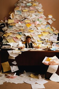 Paperwork during tax time