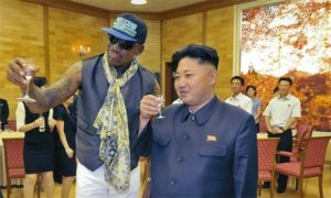 Dennis Rodman making headlines