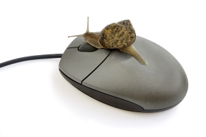 Some users are still stuck with a snail pace of Dial-Up