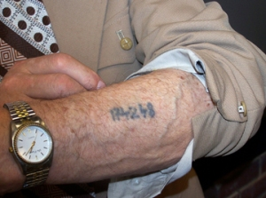Nazi Concentration Camp Tattoo